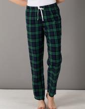 Womens Tartan Lounge Pants