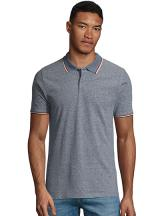 Mens Heather Polo Shirt Paname