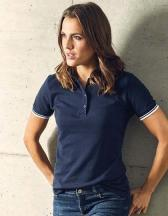 Women´s Polo Contrast Stripes