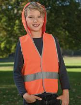 Kids´ Hooded Safety Vest EN 1150
