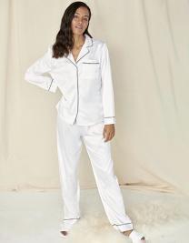 Ladies´ Satin Long Pyjamas