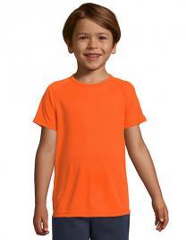 Kids´ Raglan Sleeved T-Shirt Sporty
