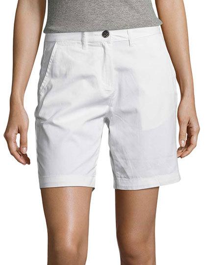 Women`s Chino Bermuda Shorts Jasper